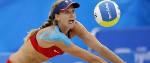 kerri walsh shoulder. Kinesiology Taping